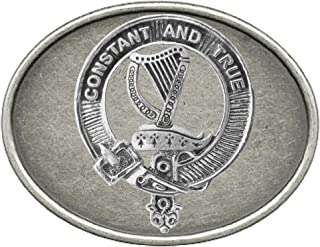 Rose Scottish Clan Crest Regular Buckle