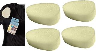 4pc Deodorant Streak Removing Sponge - Men Women Unisex - Instant Deodorant Streaks Remover Sponge - Vacation Business Tri...