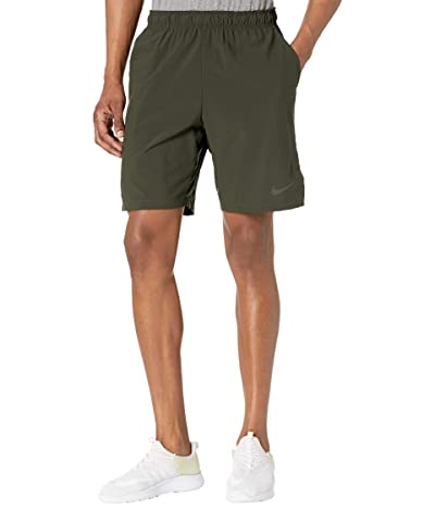 Nike Flex Shorts Woven 3.0 (Sequoia/Black) Men