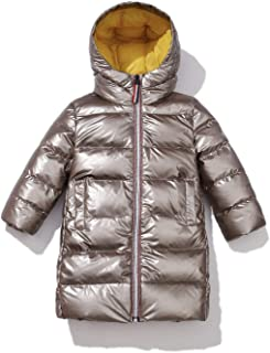Lutratocro Boys Warm Hoodie Slim Outwear Girls Quilted Parkas Coats