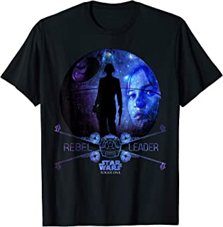 Star Wars Rogue One Jyn Erso Death Star Galaxy T-Shirt