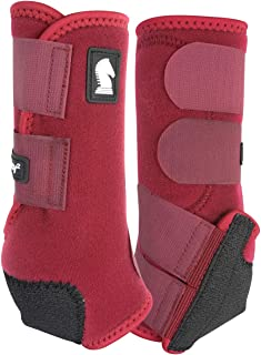 CLASSIC Equine Legacy2 Front Boots Large Red Merlo