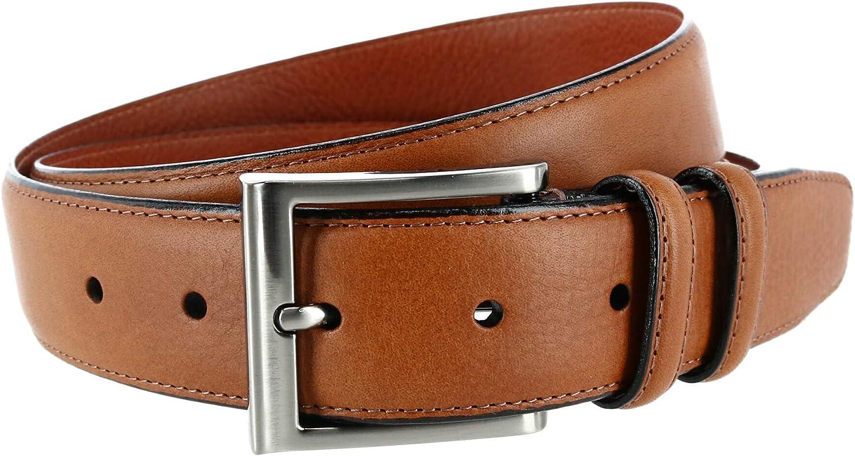Trafalgar Men's Covino 35mm Full Grain Leather Dress Belt