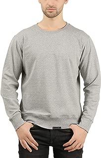 GOODTRY G Men's Cotton Sweatshirt Grey Melange