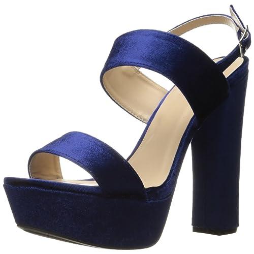 0d68260e2a Qupid Women's Beat-44 Platform Sandal