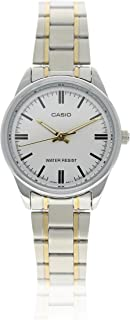 Casio Women's Analog Dial Stainless Steel Band Watch - LTP-V005SG-7AUDF