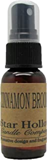 Star Hollow Candle Cinnamon Brooms Fragrance Oil, 1 oz, Brown
