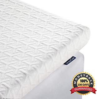 Inofia 2.5 Inch Memory Foam Mattress Topper (Twin XL)