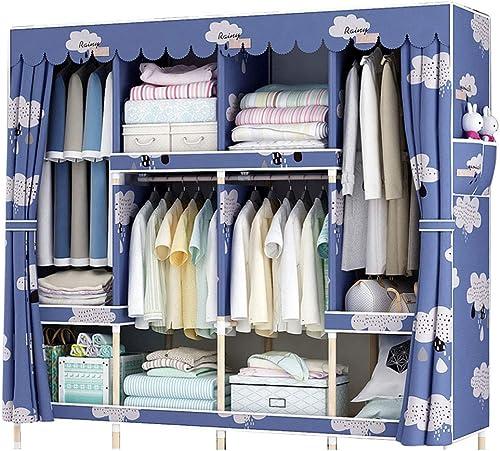mejor calidad Armario Simple para el hogar, armarios de de de Almacenamiento de Madera Maciza, 165  45  170 cm de guardarropa (Color   B)  suministro directo de los fabricantes