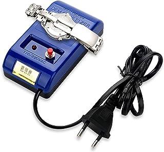 Ejoyous 250V EU Plug Orologio Smagnetizzatore, Riparazione Orologio Professionale Demagnetizer, Facile da Usare, Blu