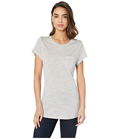 Smartwool Everyday Exploration Slub Short Sleeve Tee (Ash Heather) Women