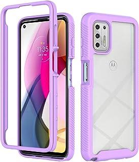 Moto G Stylus 2021 Case,DAMONDY for Motorola G Stylus 2021 Case,Full Body Defender Protective for Girls Women,Hard Clear P...