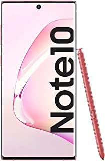 Samsung Galaxy Note10 SM-N970F - Smartphone (Dual SIM, 8 GB RAM, 256 GB Memoria, 10 MP Dual Pixel AF), Rosa (Pink)