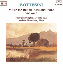 Bottesini: Music For Double Bass And Piano, Vol. 1