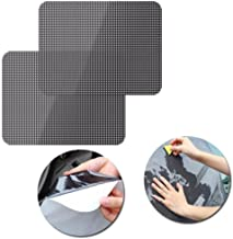 Glumes Car Shades For Side Windows|16.53''x14.96'' | Block Sun Glare|Harmful Heat| UV Rays | Protect Your Baby Child Or Pet's Eyes | Static Cling Film Design| 2Pcs (Black)
