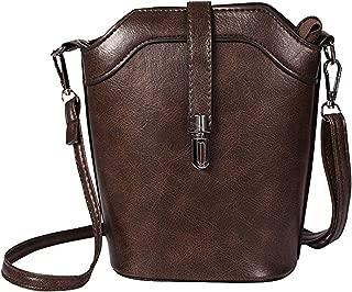 seOSTO Women's Crossbody Bag Cell Phone Purse Clear Wallet Bag