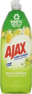 Ajax Floor Cleaner Multi Surface Stone Safe Baking Soda and Citrus Cleaner Removes Grease and Grime Made in Australia 750mL
