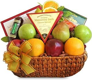California Delicious Fruit Abounds Gift Basket