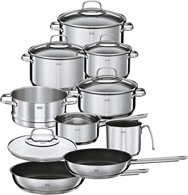 Rösle Elegance Stainless Steel Cookware Set, 10 Piece