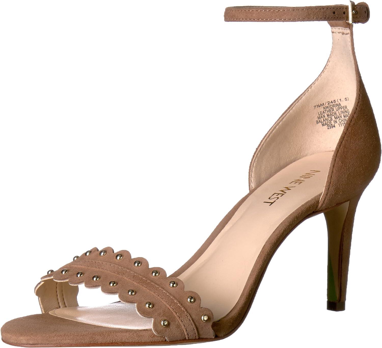 Nine West Women's Idrina Suede Dress Sandal