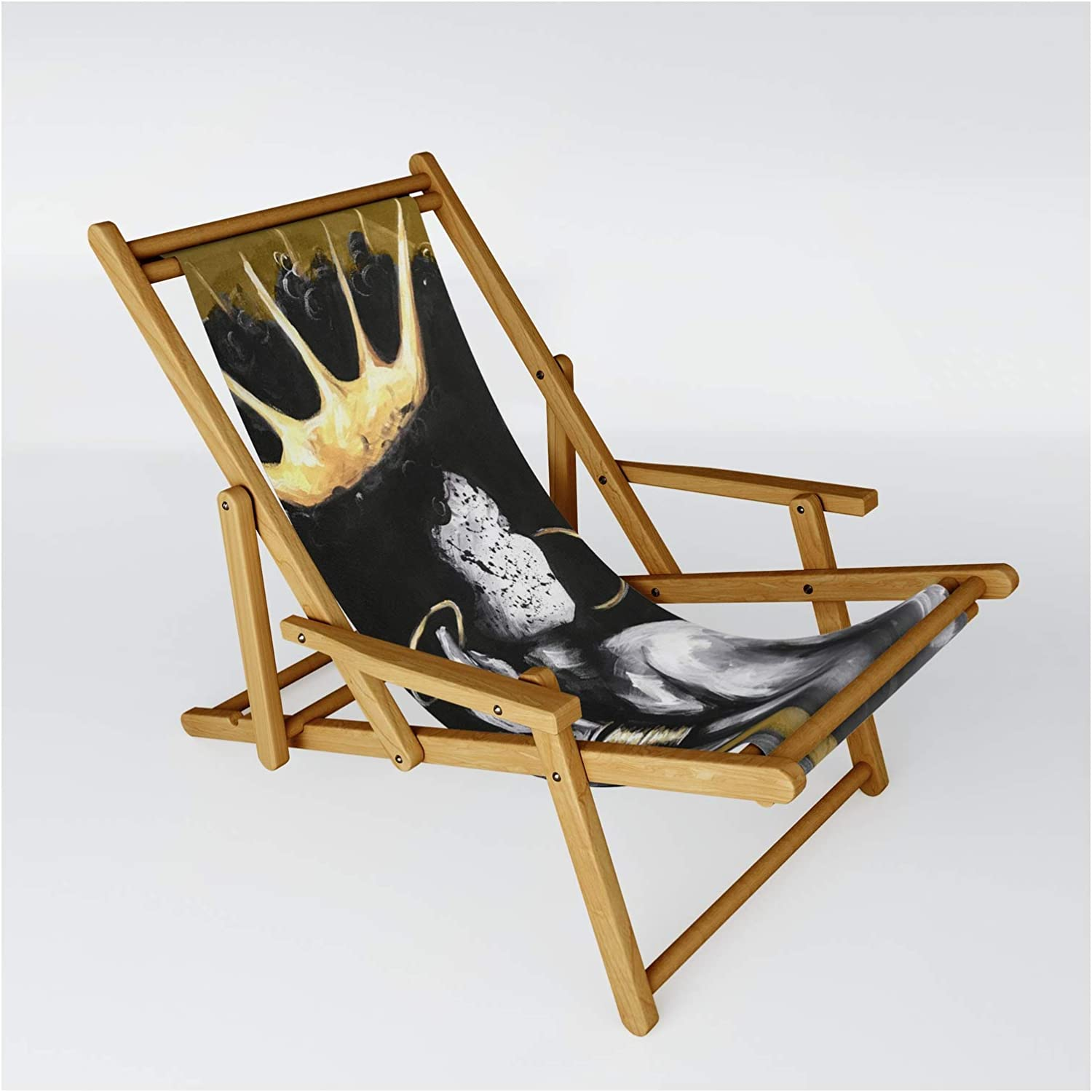 Society6 Naturally Queen Vi Gold Sling Max 55% OFF by wholesale on Chair Dacre8iveone