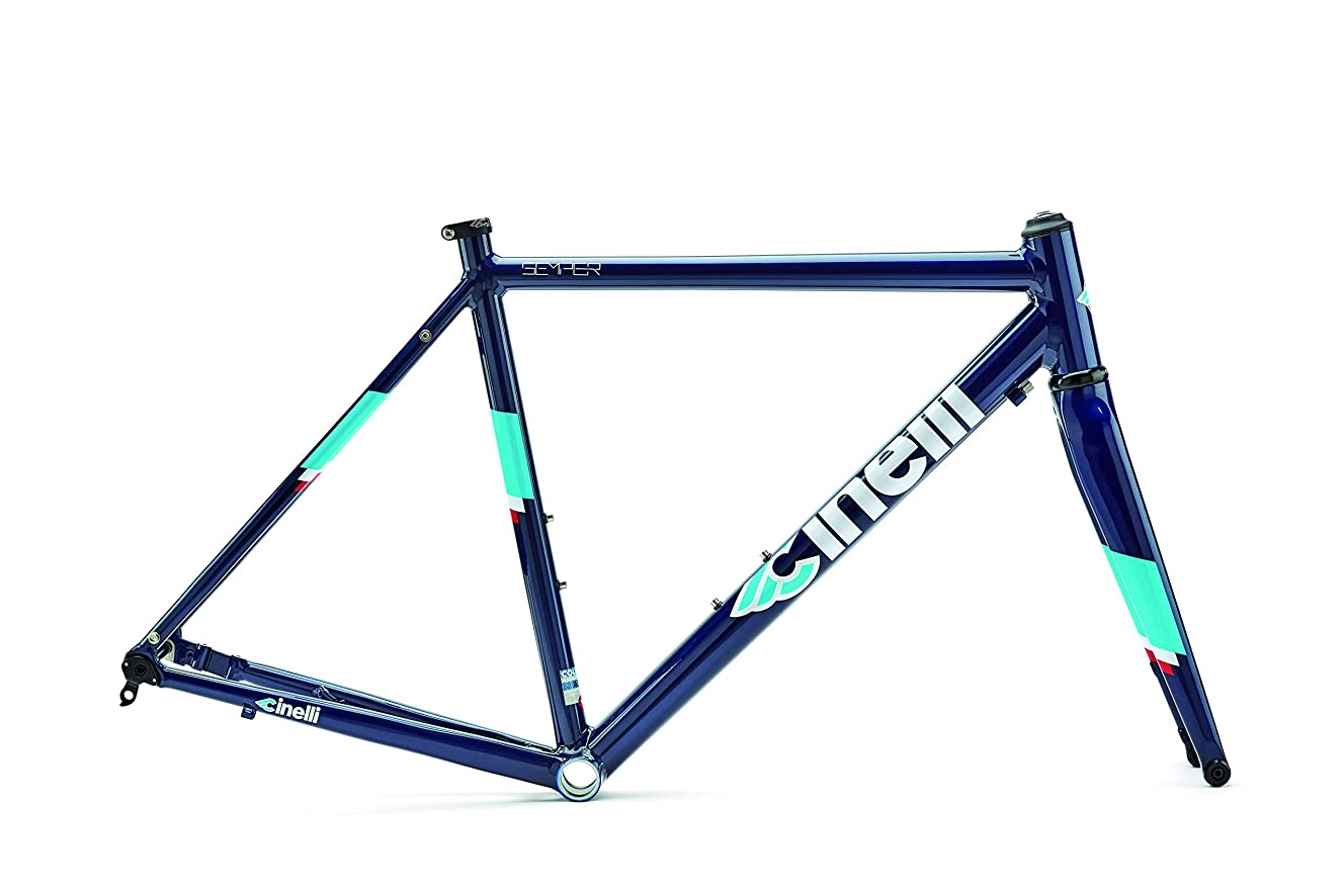 Cinelli Semper Disc Frameset Bicycle Blue Destiny