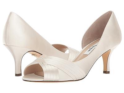 Nina Contesa (Ivory Crystal Satin) High Heels