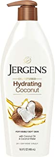 Jergens Hydrating Coconut Moisturizer for Dry Skin, 496 ml