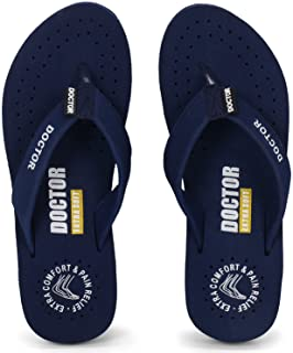 DOCTOR EXTRA SOFT Women's Ortho Care Orthopaedic and Diabetic Feel Good Super Comfort Dr Sliders Flipflops and House Slipp...