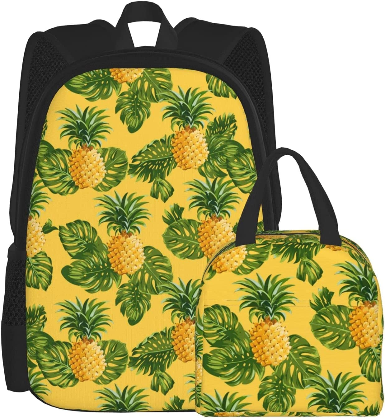 Backpack Lunch Bag Sets Bombing new work for Tropical Pineapples and Girls Boys Sales for sale