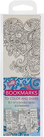 Creative Expressions of Faith Collection #1: Bookmarks to Color and Share - 5 Pack