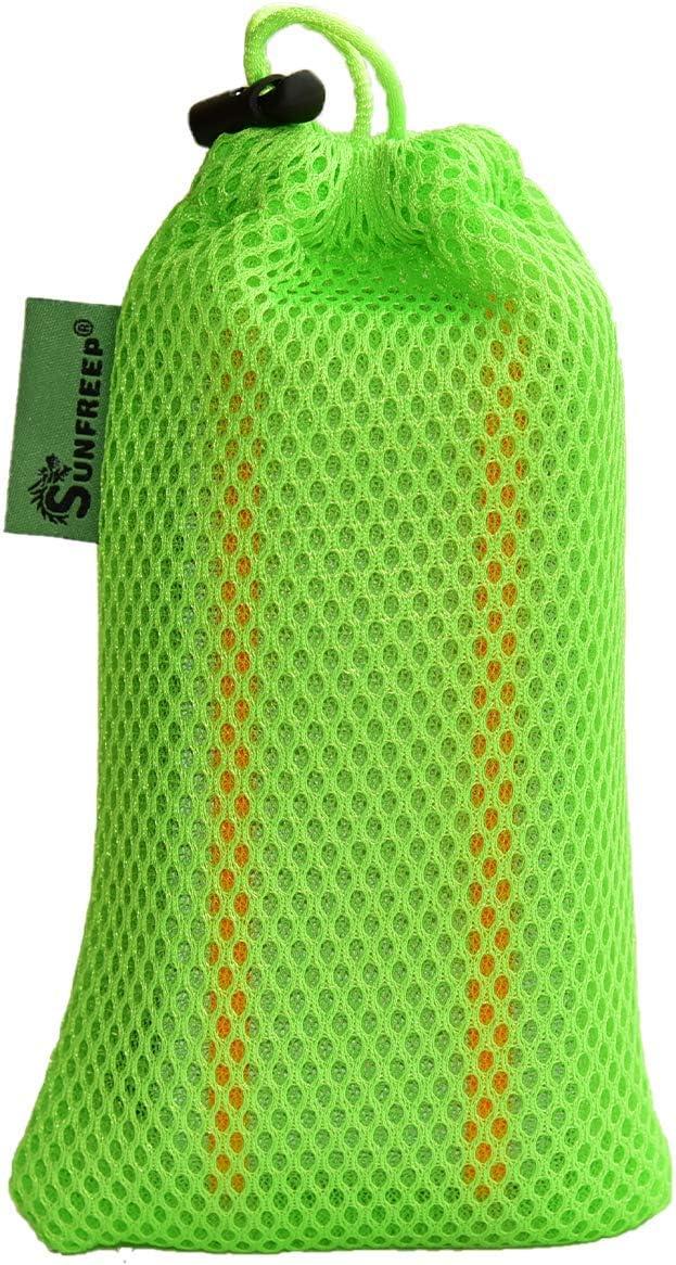 SUNFREEP New Safety Reflective Sash Adjustable Waist//Night Running,Cycling,Construction,Walking,Outdoor Breathable Lightweight Durable Versatile for Women Men Kids High Visibility Gear