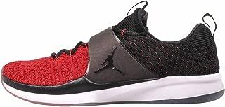 Men's Jordan Trainer 2 Flyknit Training Shoe (Gym Red/Black-Black, 12 M US)