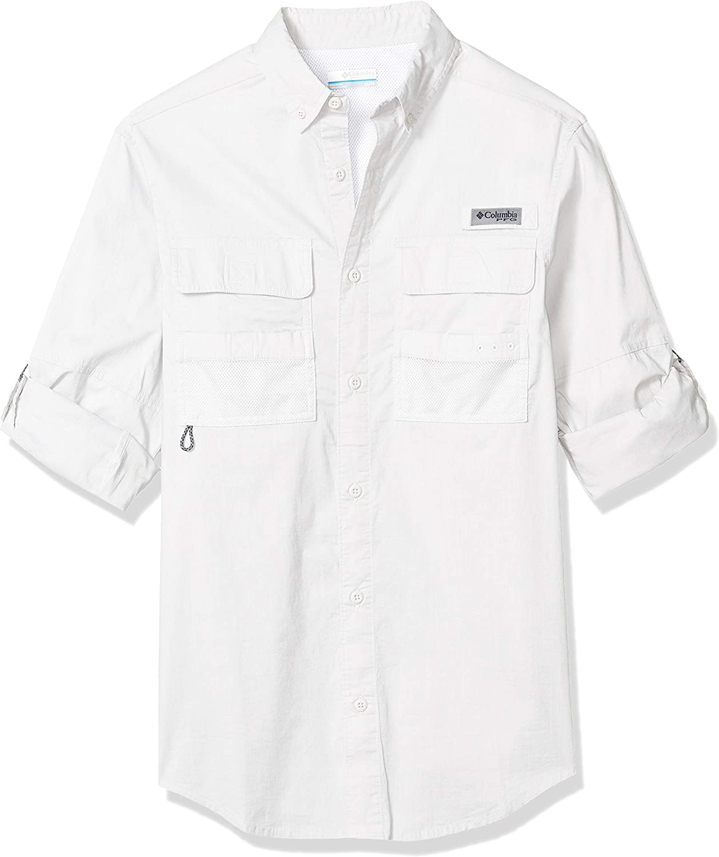 Columbia Men's Half Moon Long Sleeve Shirt