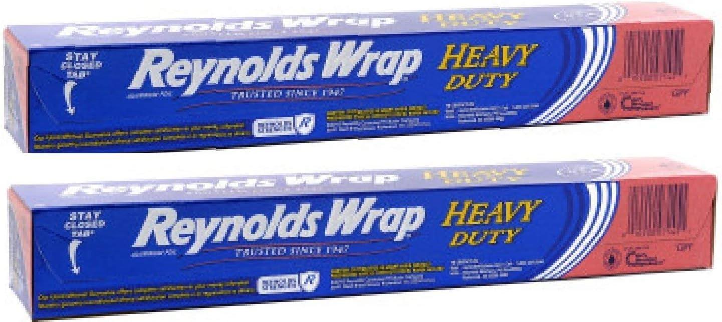 Reynolds Wrap ブランド激安セール会場 - Heavy Duty Aluminum Square 50 Roll Foot Foil 安全