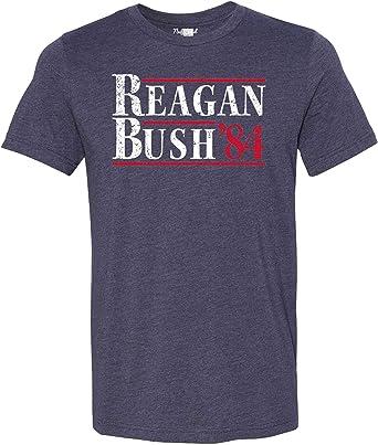 NuffSaid Vintage Reagan Bush 84 Republican T-Shirt - Unisex Campaign Tee