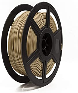 Filamento para Impressora 3D Pla, Flashforge, Madeira Claro, 0.5kg