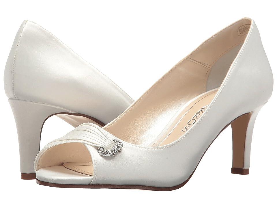 Caparros John (Ivory Satin) High Heels