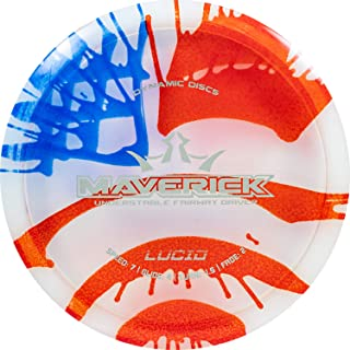 Dynamic Discs MyDye American Flag Disc Golf Discs | Maximum Distance Drivers | Fairway Drivers | Stable Midrange | Beadles...