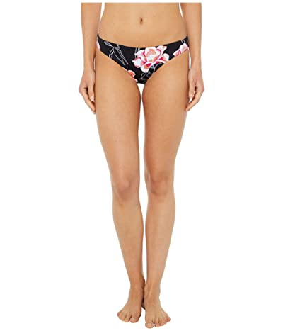 Roxy Solid Beach Classics Fashion Regular Swim Bottoms (Anthracite Zilla) Women