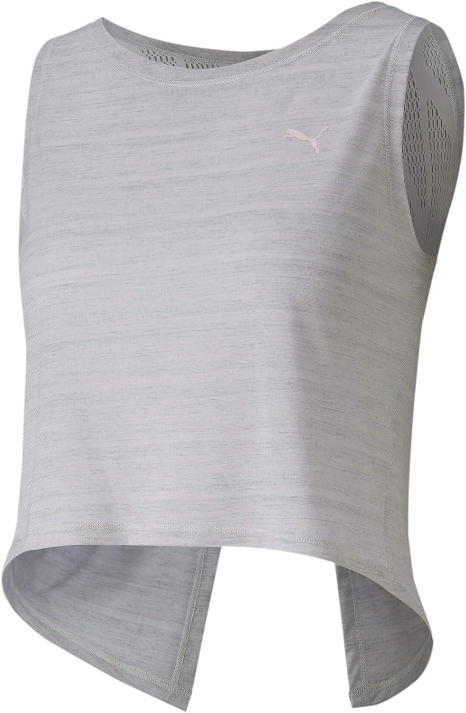 PUMA Studio Crop Lace Tank Camiseta Mujer