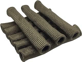 Titanium Spark Plug Boot Protector Sleeve Spark Plug Wire Boots 8cyl