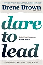 Cover image of Dare to Lead by Brené Brown