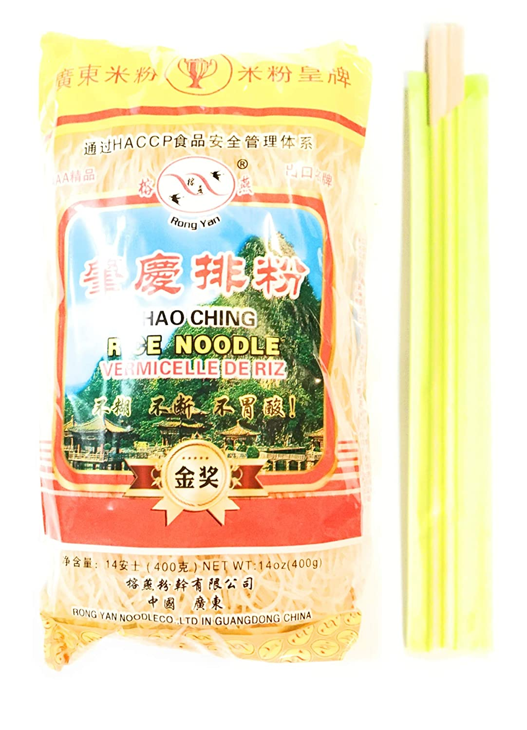 Rong Yan Chao Ching Rice Quality inspection Noodle 14 Cho Oz Pairs Of outlet 4 And Pack