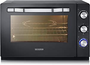 Severin TO 2066 XXL - Horno tostador, 2200 W, 60 L, color negro