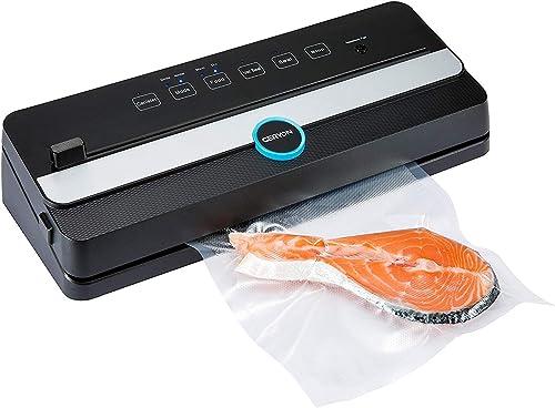 GERYON Vacuum Sealer, Automatic Food Sealer Machine for Food Savers w/Built-in Cutter|Starter Kit|Led Indicator Light...
