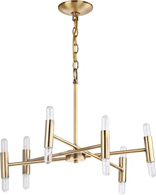Safavieh CHA4005A Lighting Collection Gale Gold Chandelier