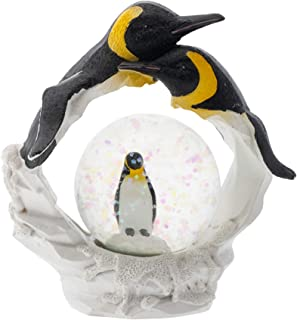 تمثال صغير لطائر البطريق أصفر الرقبة من إيلان ديزاينز 45 مم لتزيين الكرة الأرضية