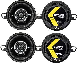 """4) Kicker 43DSC3504 3-1/2"""" 3.5"""" 160 Watt 2-Way Car Audio Speakers DSC35 DS35 photo"""