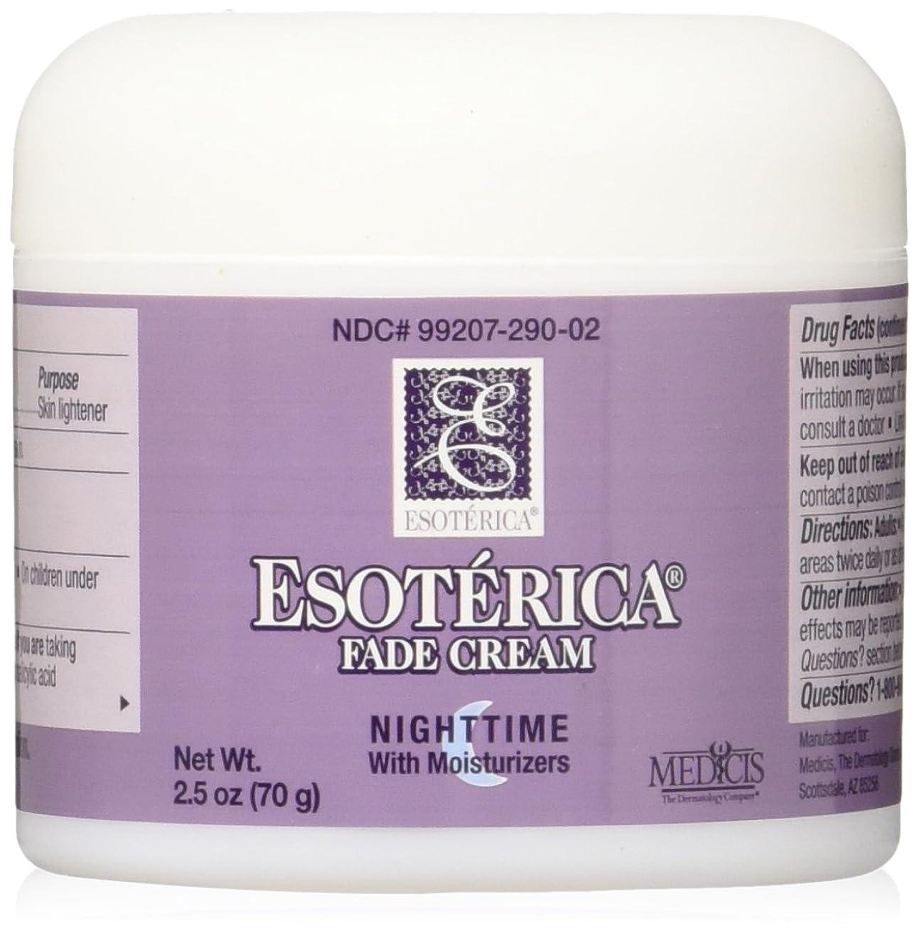 王女教育学爆発する海外直送品Esoterica Fade Cream Nighttime With Moisturizers, 2.5 oz by Esoterica